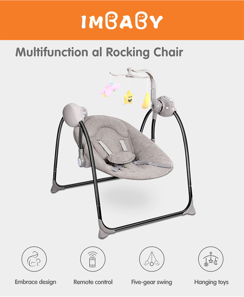 HTB1P0hoa6nuK1RkSmFPq6AuzFXae IMBABY Baby Swing Baby Rocking Chair Electric Baby Cradle With Remote Control Cradle Rocking Chair For Newborns Swing Chair