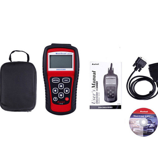 Code Readers & Scan Tools car code reader launch diagnostics auto scanner obd2  live data engine Autos MS509 kit May21