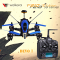 На Складе F210 3D Версия RTF БНФ Walkera RC Drone с Камерой 700TVL OSD для Walkera DEVO7 Передатчик F210 Бесплатная доставка