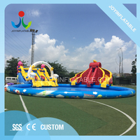 Joyinflatable Inflatable Water Amusement Park Inflatable Water PlayGround Fun