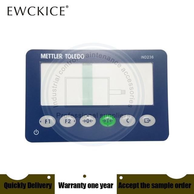 NEW METTLER TOLEDO IND236 IND 236 HMI PLC Membrane Switch keypad keyboard Industrial control maintenance accessories