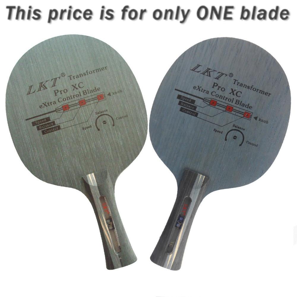 LKT Transformer Pro XC Extra Control Long Shakehand FL Table Tennis PingPong  Blade f8b7c2d487147