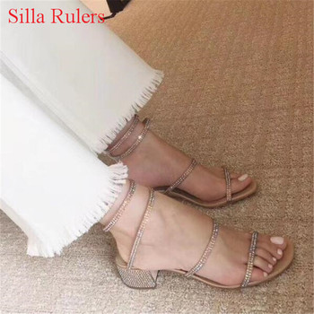 Fashion New Women Sandals Snake Style Crystal Strap Ankle Wrap Gladiator Sandals Women Summer Shoes Woman Boots Sandalias Mujer римские сандали