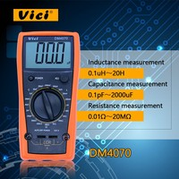 Digital LCR Meter 3 1/2 20H 2000uF 20Mohm self discharge inductance R C DM4070 Can measure resistance with high presion