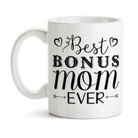 Best Bonus Mom Ever Step Mother Mug Beer Mugs Cup Travel Beer Cup Porcelain Coffee Mug