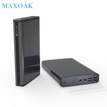 Maxoak K2 Ноутбука Банк питания постоянного тока 20 В 5A/12 В 2.5A Быстрая зарядка Порты внешний Батарея Зарядное устройство для Ноутбуки планшеты телефона