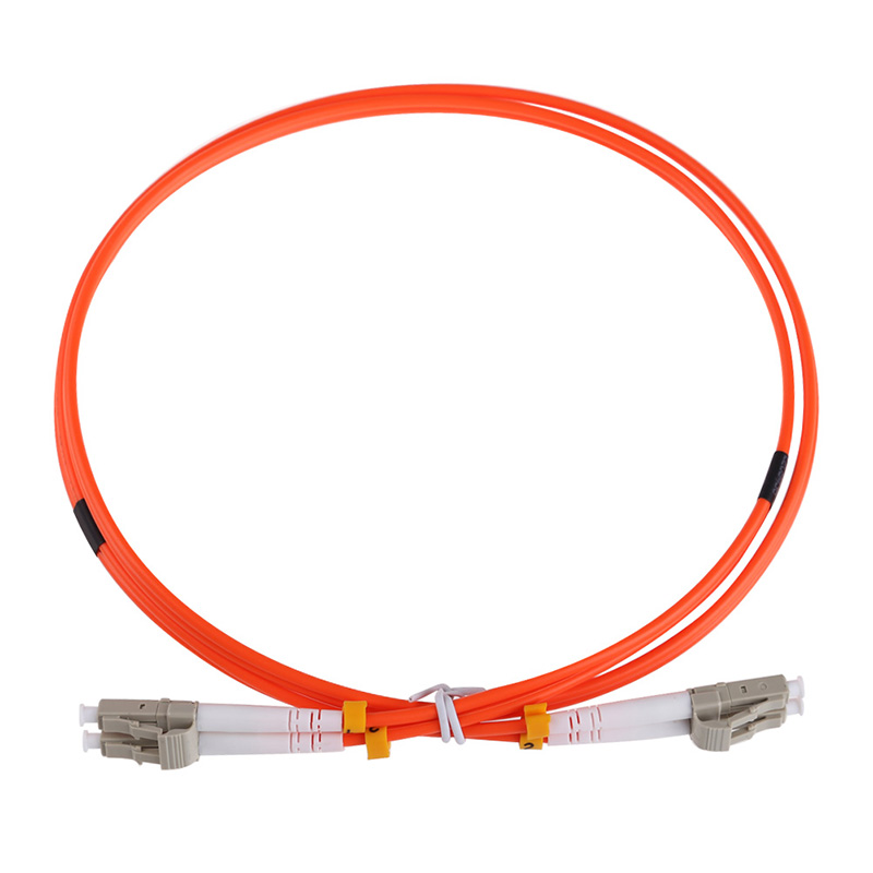 Professional Fiber Optic Connectors Cable 3M LC to LC Fiber Patch Cord Electricos Jumper Cable Duplex 3.0mm MM 62.5/125 LC-LC HR 106126 1300[fiber optic connectors lc dup adpt zr slv fiber mr li