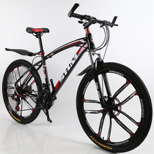 26 inch mountain bike double disc brake adult student 24 speed bicycle