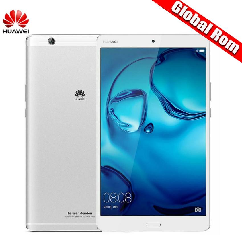 "Глобальный Встроенная память 8.4 ""Huawei MediaPad M3 4 ГБ Оперативная память WI-FI/LTE Android 6.0 Octa core Планшеты KIRIN 950 2 К Экран 2560*1600 s"