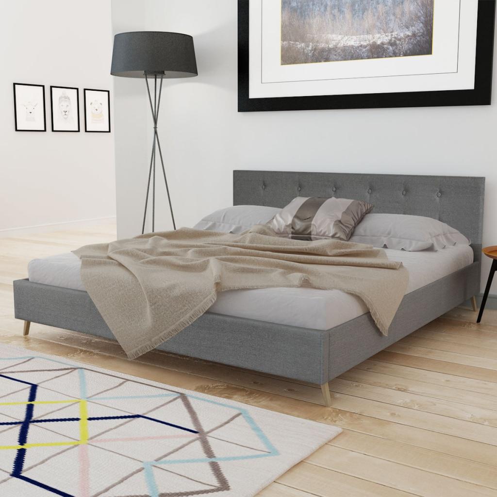 ikayaa diseo moderno cama de cuero artificial de madera cama dormitorio muebles muebles para el hogar