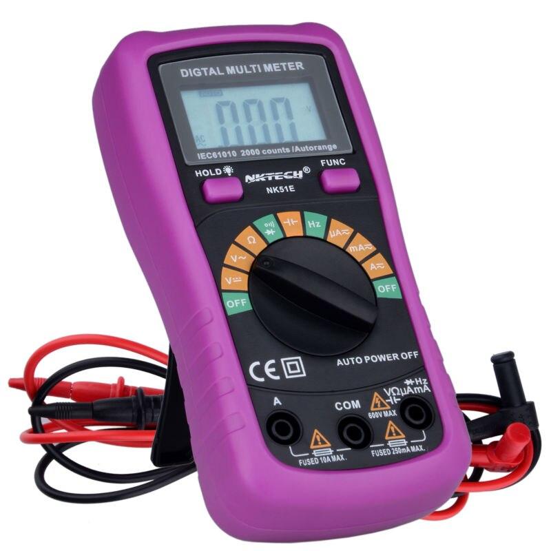 NOVÝ Multimetr NK51E VS MS8233D s kapacitním a frekvenčním - Měřicí přístroje - Fotografie 4