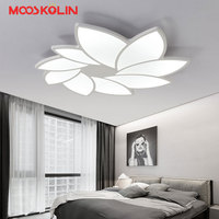 Flower Design New Modern Led Ceiling Chandelier Light For Living Room Bedroom Indoor Acryli Ceiling Chandeliers