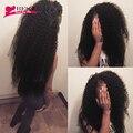 Cabelo virgem encaracolado Kinky Malaio virgem cabelo Crespo cabelo humano Não Processado tecer cabelo humano Barato 3 bundles Afro kinky curly