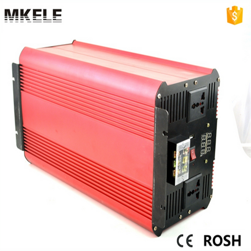 цена на MKP2500-122R inverter pure sine wave 2500w 12v power inverter 12v 220v inversor power inverter 12v voltage converter