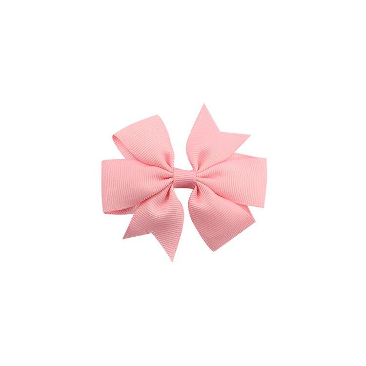 40 цветов сплошная корсажная лента банты заколки шпилька девушка бант для волос, бутик заколки для волос аксессуары для волос