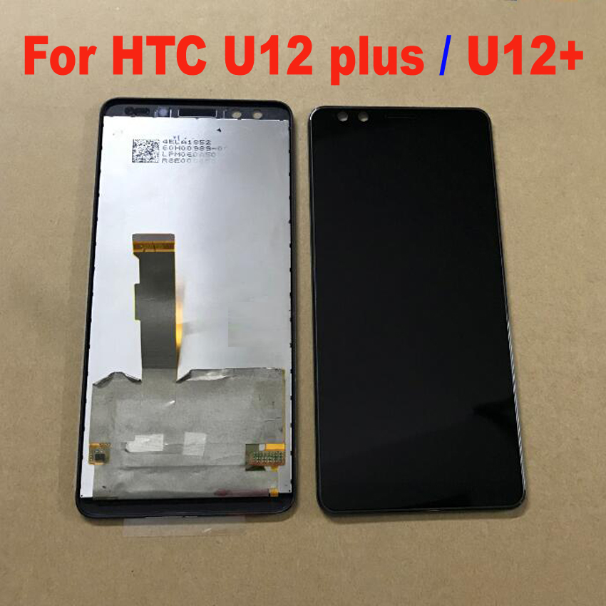 Best Working 6.0 LCD Display Touch Screen Digitizer Assembly Glass Sensor For HTC U12 Plus / U12+ Phone Panel Parts BlackBest Working 6.0 LCD Display Touch Screen Digitizer Assembly Glass Sensor For HTC U12 Plus / U12+ Phone Panel Parts Black