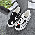 2016 New Summer Children Casual Shoes Boys Girls  Hand Painted Cartoon  Chaussure enfant  Fille Shoes Kids Canvas Sneakers
