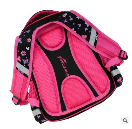 Mochila de Estudante Crianças Schoolbag 4 Pcs Set