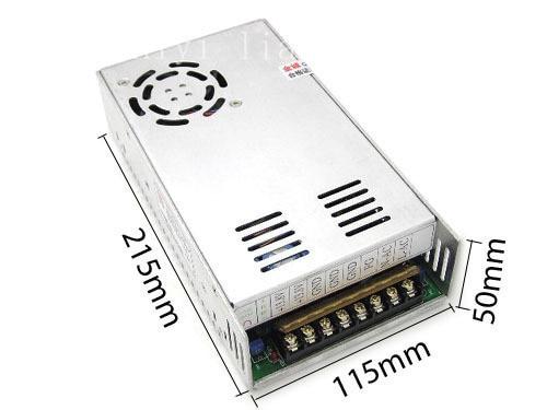 Alimentation à découpage avec commande de courant chargeur LED CCTV U30, sortie 24 V 25A 600 W transformateurs de puissance