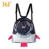 361 детские спортивные сумки Детский рюкзак для мальчиков и девочек астронавт сумки для плавания водонепроницаемая сумка сухой влажный Кемп...