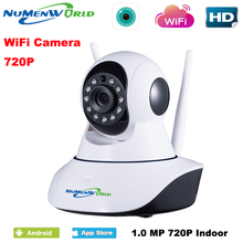 New 720P IP Camera WIFI Video Babyphone Wireless webcam Remote Control Baby Monitor With Night Vision & Voice Network recorder