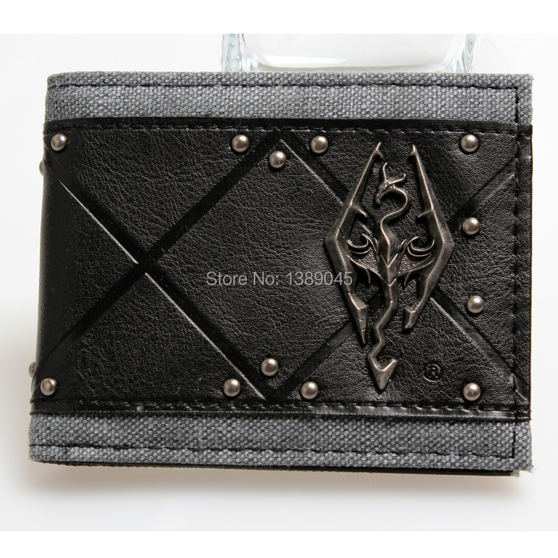 Skyrim wallet  young boys and girls students personality fashion short transverse section 2 fold wallet DFT-1121 point systems migration policy and international students flow