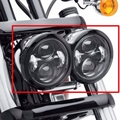 Nueva Daymaker Faros LED con anillo Para Harley Dyna Fat Bob FXDF Modelo Daymaker Lámparas LED 5 ''Fat Bob faro