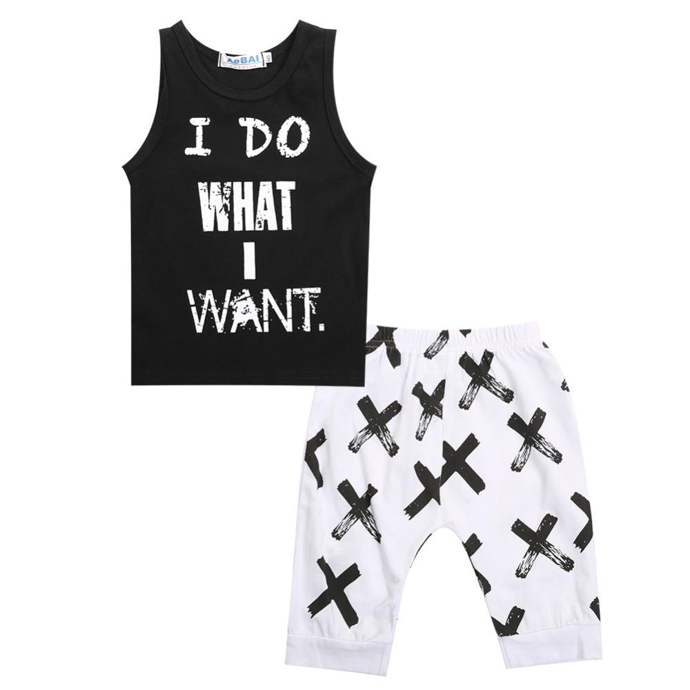 pudcoco Summer Baby Boy Clothing Set Clothes Children