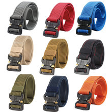 Hot Unisex Adult Daily Belts High Quality Nylon for Men&Women Durable Military Training Casual