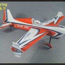 SKYWING PP материал самолет RC 3D самолет радиоуправляемая модель для хобби игрушки размах крыльев 55 дюймов 50E SLICK360 3D самолет комплект