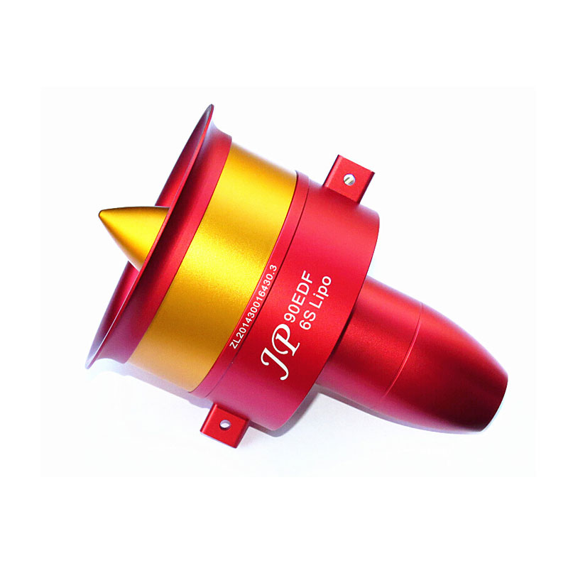 90mm EDF Full Metal Ducted Fan JP 90mm with three Choice Brushless Motor: 4250 KV1750 Motor(6S),4250 KV1330(8S),4250 KV1050(12S) 4250