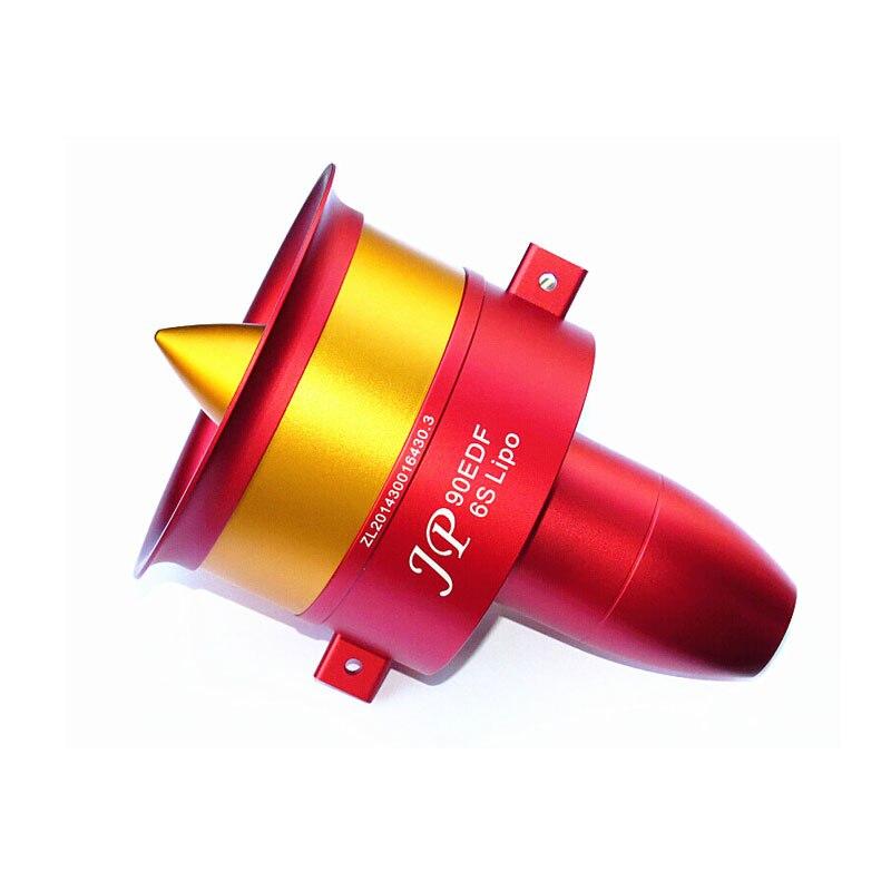 90mm EDF plein métal conduit ventilateur JP 90mm avec trois choix moteur sans balais: 4250 KV1750 moteur (6 S), 4250 KV1330 (8 S), 4250 KV1050 (12 S)