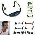 Deporte MP3 WMA Reproductor de Música Inalámbrico de Auriculares manos libres TF/Ranura Para Tarjeta Micro SD Envío Libre