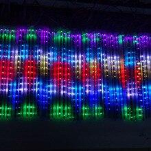 0,5 м длинные 3D WS2812B цифровой Метеор светильник; пикселей трубки; DC5V вход; 32 шт. WS2812B светодиоды с 16 пикс./м