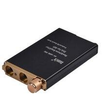 Alto rendimiento portátil Amplificadores de auriculares u606pro estéreo HiFi mini auricular amplificador Amplificadores salida retardada reemplazable OPA