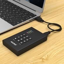 USB3.0 2.5 inch encrypted hard disk box SATA interface encrypted hard disk box