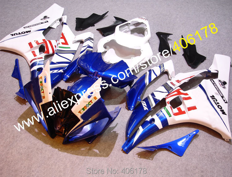 Hot Sales,ABS Fairing For Yamaha YZFR6 2006 2007 YZF-R6 YZF R6 06 07 FIAT Aftermarket Motorcycle fairing (Injection molding) hot sales for yamaha yzf r1 2007 2008 accessories yzf r1 07 08 yzf1000 black aftermarket sportbike fairing injection molding