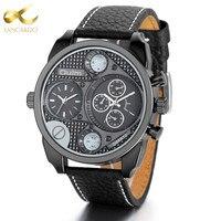 Relogio Masculino Lancardo Watch Chronograph Mens Watches Top Brand Luxury Sports Watches Men Clock Quartz Wrist
