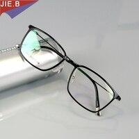 Fashion Square Glasses Frame Men Plastic Titanium Eyeglasses Glasses Frame Women Computer Goggles Metal Legs Oculos