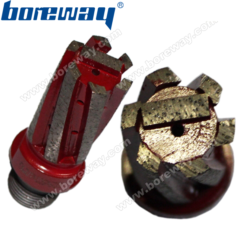 Guaranteed good quality D25 50T 1 2 G diamond finger bit with strengthened bottom for stone