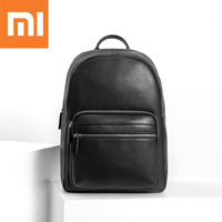 Xiaomi VLLICON 24L Leather Shoulder Backpack 1.3inch Laptop Bag Outdoor Travel Xiaomi Laptop Bag for Macbook for Xiaomi Laptop