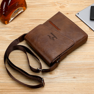 Image 5 - Summer Luxury Brand Kangaroo Messenger Bags Men Leather Casual Crossbody Bag For Men Business Shoulder Bag Male Small Handbag