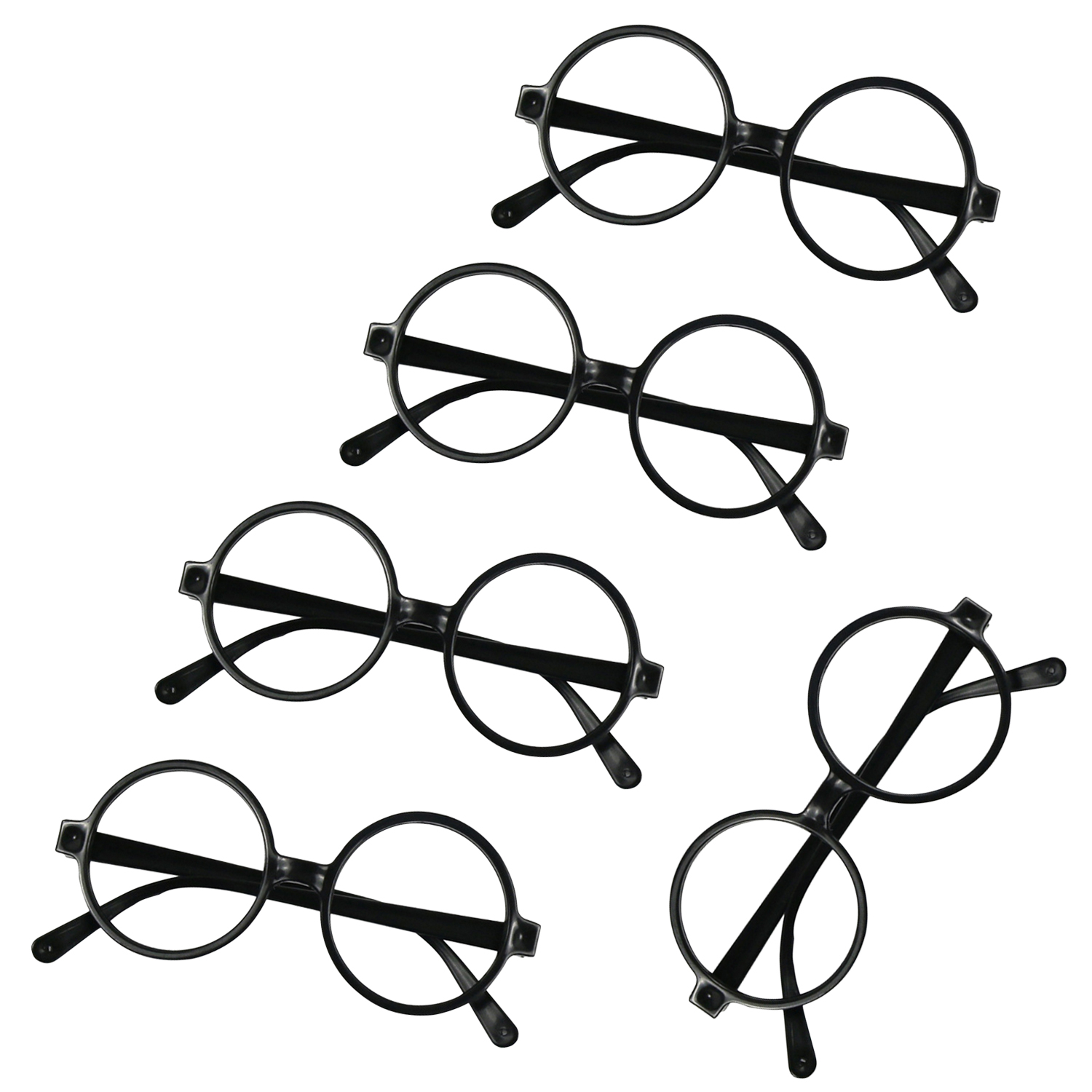 12pcs Cute Child Glasses Frame For Halloween Christmas Holidays Birthday Party Fun Gift Favors Toys