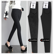 Leggings women 2019 Pencil Pants Fashion Women Casual Stretch Jeans Jeggings Thin Skinny Womens Clothing