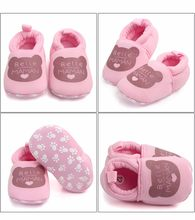 Lovely Letter Printing Toddler First Walkers Cotton Shoes Soft Sole Print Kid Girls Boy Shoes children footwear newborns(China)