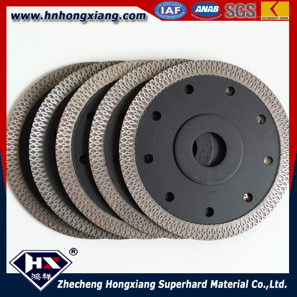 ceramic tile cut disc black color turbo mesh blade disc