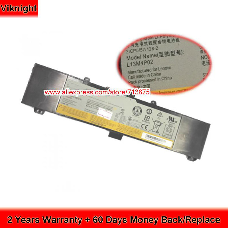 7400mAh 54Wh Y50-70 Battery For Lenovo L13M4P02 Y50-70(20378) Y50-70(5941845) Y50-70(59421847) L13N4P01 Laptop Battery new charger for lenovo y50 y50 70 y50 80 y700 20v 6 75a 135w power supply usb pin notebook laptop ac adapter