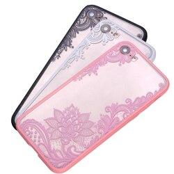 Etmakit высокое качество роскошные сексуальные кружевные цветочные серьги хна Мандала Цветы Чехол для телефона iphone чехол для iphone 6 6s 7 Plus