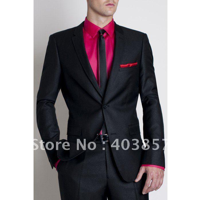 Modern Wedding Suit Brand Dinner Jacket Tuxedo Custom Made ...