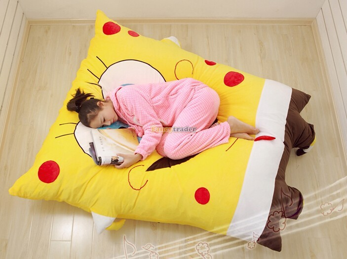 Fancytrader 190cm X 140cm Huge Giant Cute Spongebob Bed Carpet Sofa Tatami, Free Shipping FT90349 (4)